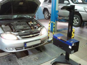 autó szerviz - műszaki vizsga - futómű állítás